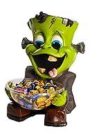 Halloween Candy Bowl Holder, Frankenstein [並行輸入品]