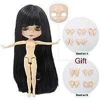 コングミンノ 氷ヌード工場ブライス人形余分顔 & 手のための適切なドレスアップ自分で Diy の変更 BJD おもちゃ特別価格