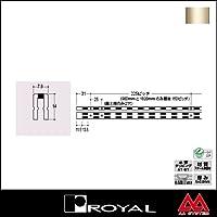 e-kanamono ロイヤル 棚柱 チャンネルサポート(シングル) ASF-10 2400mm Aニッケルサテン