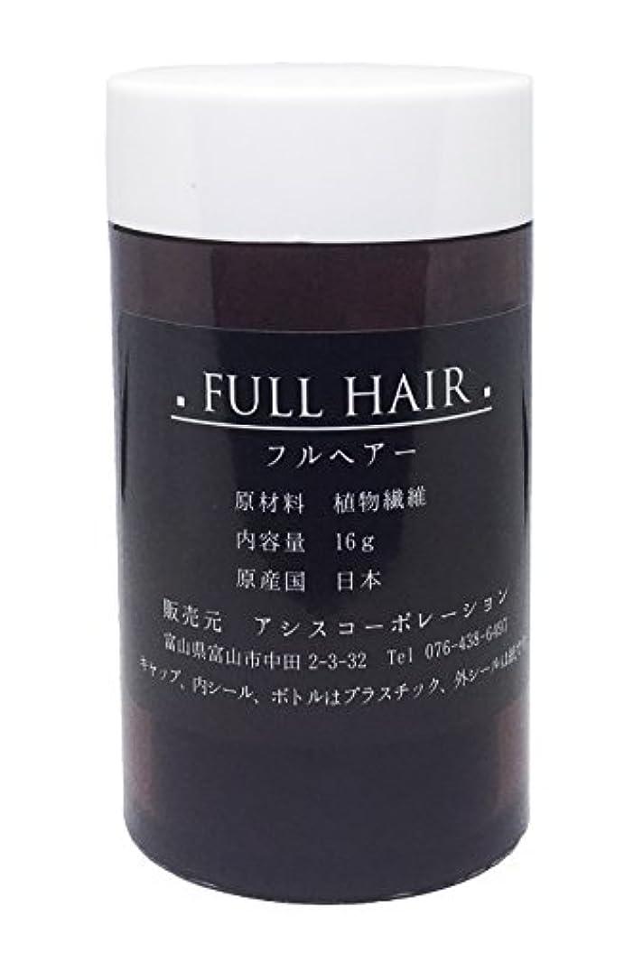 真鍮サーマル平手打ちフルヘアー 16g ブラック 増毛パウダー 薄毛隠し 円形脱毛症に