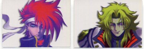 サイキックフォース2012 年賀状イラスト BOXカード2枚...