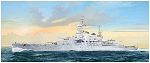 ピットロード 1/700 スカイウェーブシリーズ イタリア海軍 戦艦 リットリオ 1941 プラモデル W196