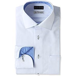 (ピーエスエフエー)P.S.FA(ピーエスエフエー) i-shirt 完全ノーアイロン スリムモデル 長袖 セミワイドカラーアイシャツ M151180032-34 81 サックス L(首回り41cm×84cm)