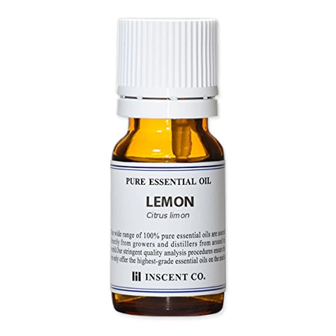 エリート打ち負かす誰かレモン 10ml インセント アロマオイル AEAJ 表示基準適合認定精油