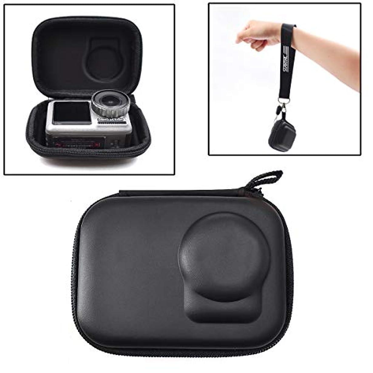 金属節約シロクマOSMO アクションミニストレージバッグ キャリーハードシェルケース 防水ボックス DJI OSMOアクションカメラアクセサリー
