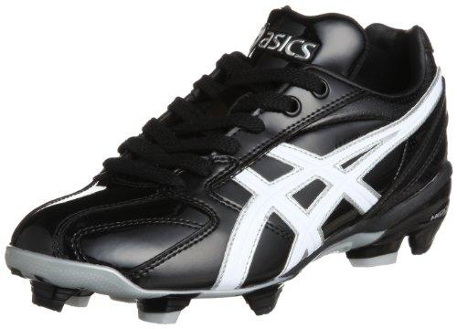 [アシックス]野球スパイクSPEEDSHINESFP1009001ブラック/ホワイト24.0