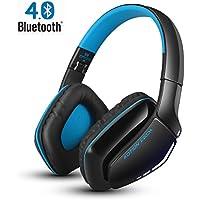 Bluetooth ヘッドホン 高音質 KOTION EACH ワイヤレスヘッドホン マイク内蔵 折りたたみ式 有線と無線両用