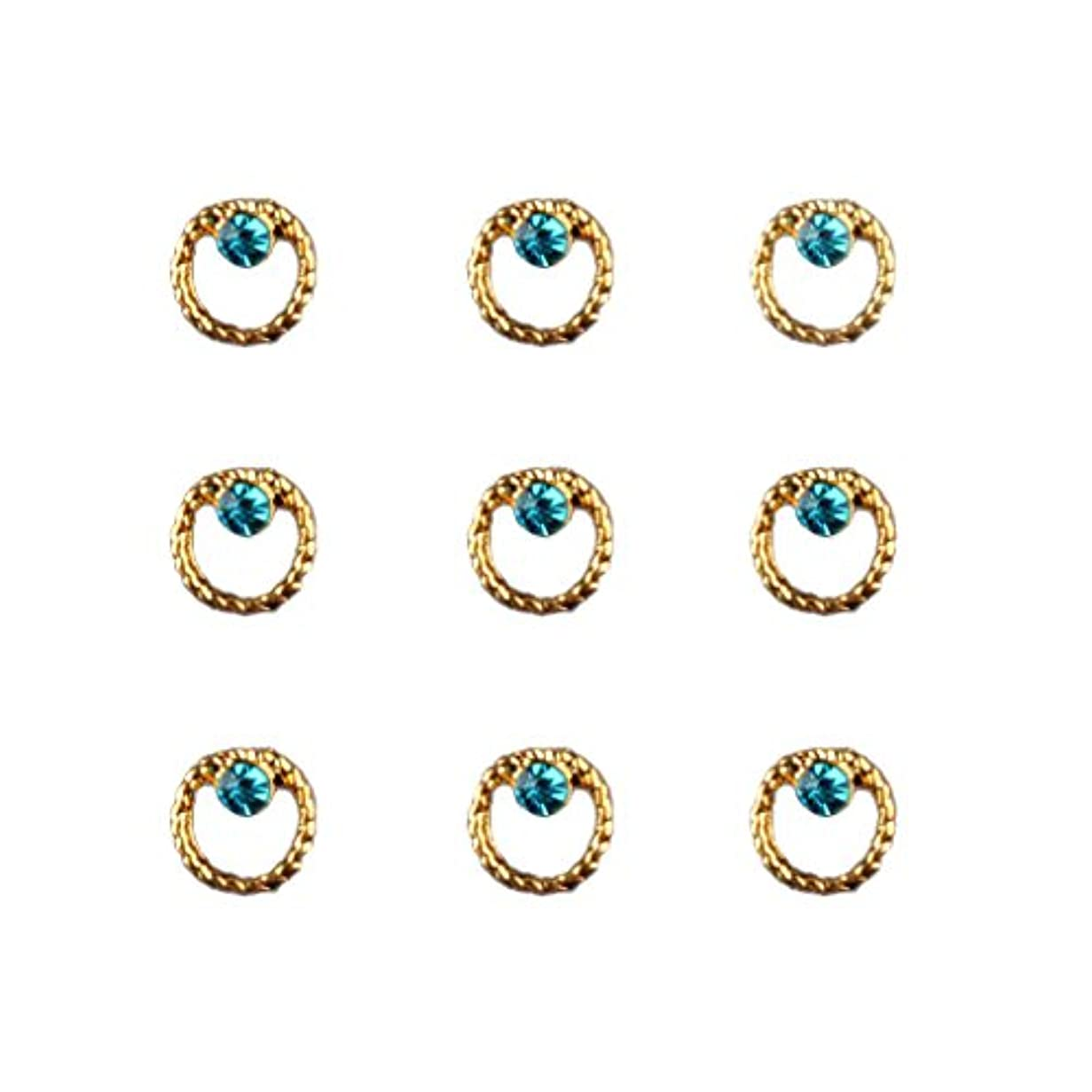 花束不合格戸口Toygogo 20ピース/個3Dネイルアートのヒントマニキュア用ステッカーデコレーションチャーム - タイプ1