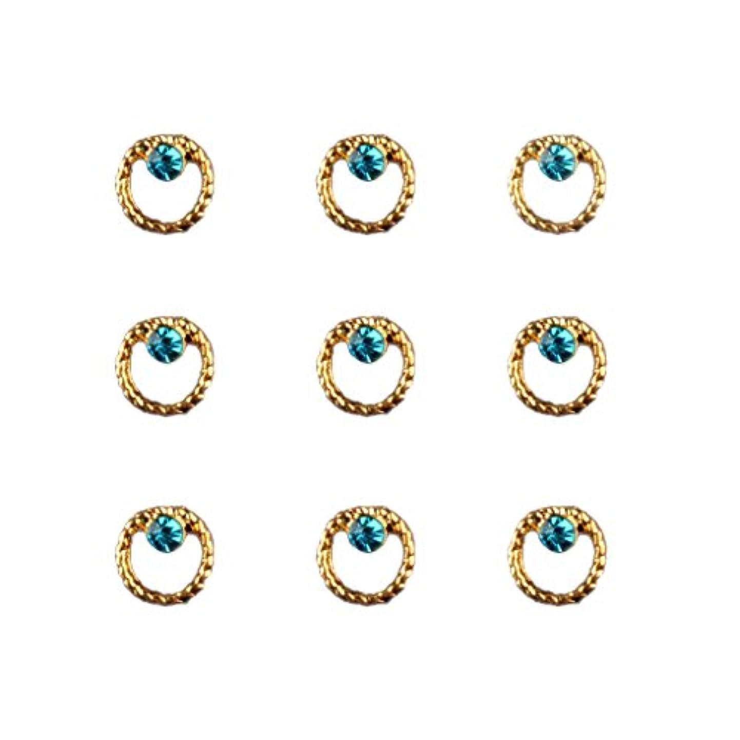 グロー信者不毛Toygogo 20ピース/個3Dネイルアートのヒントマニキュア用ステッカーデコレーションチャーム - タイプ1