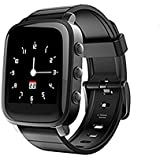 SMA-Q2 Heart Rate Smart Watch for Prime Day Activity Tracking Watch,40 Days Standby,24h Always on Memory LCD Screen,Personality Watchfaces,Stopwatch,3ATM Water Resistance,Remote Capture,For iPhone / Android Black