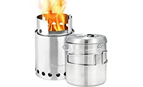 Solo Stove Titan And Pot 1800 Combo Cooking System One Size Silver