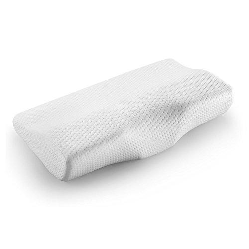 Preferred Innovation 枕 安眠 健康枕 低反発 3Dデザイン 肩こり解消 いびき防止 頭・首・肩サポート ヘルスケア 寝心地良い 洗えるカバー 50x30cm 通気抗菌