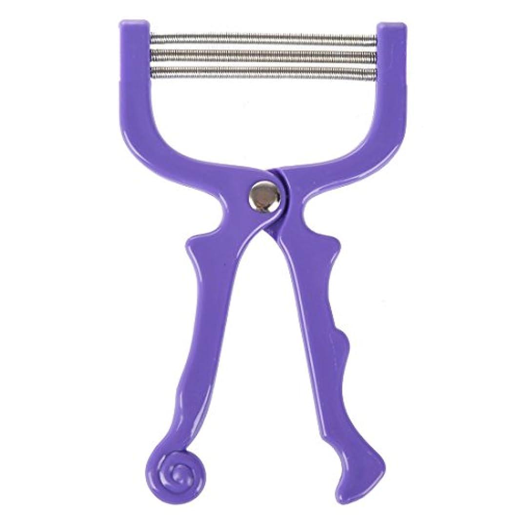 混乱させる行くビジターACAMPTAR ハンドヘルドひげ脱毛スレッディング美容脱毛器ツール