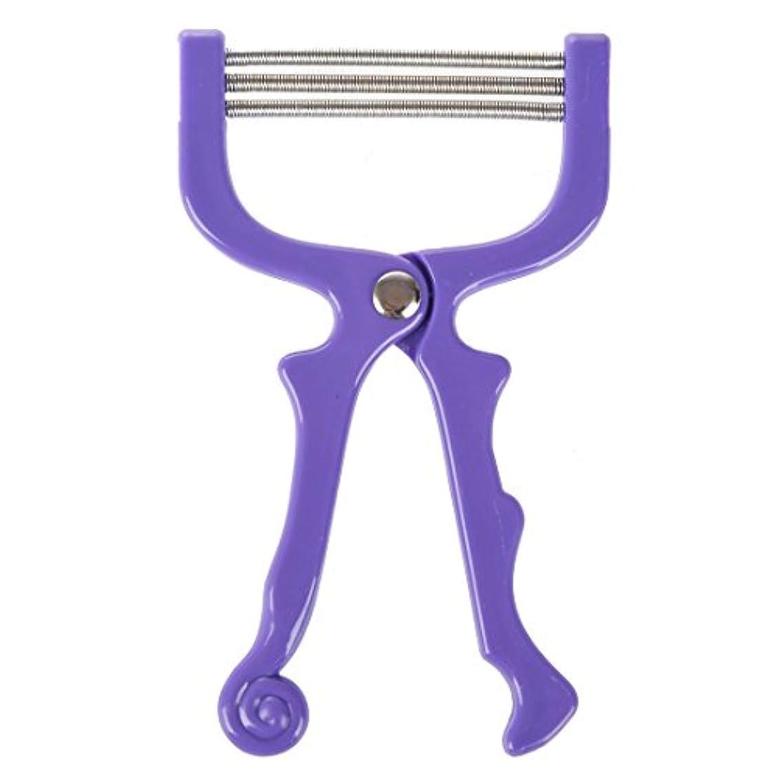 溢れんばかりのバスルーム追い出すACAMPTAR ハンドヘルドひげ脱毛スレッディング美容脱毛器ツール