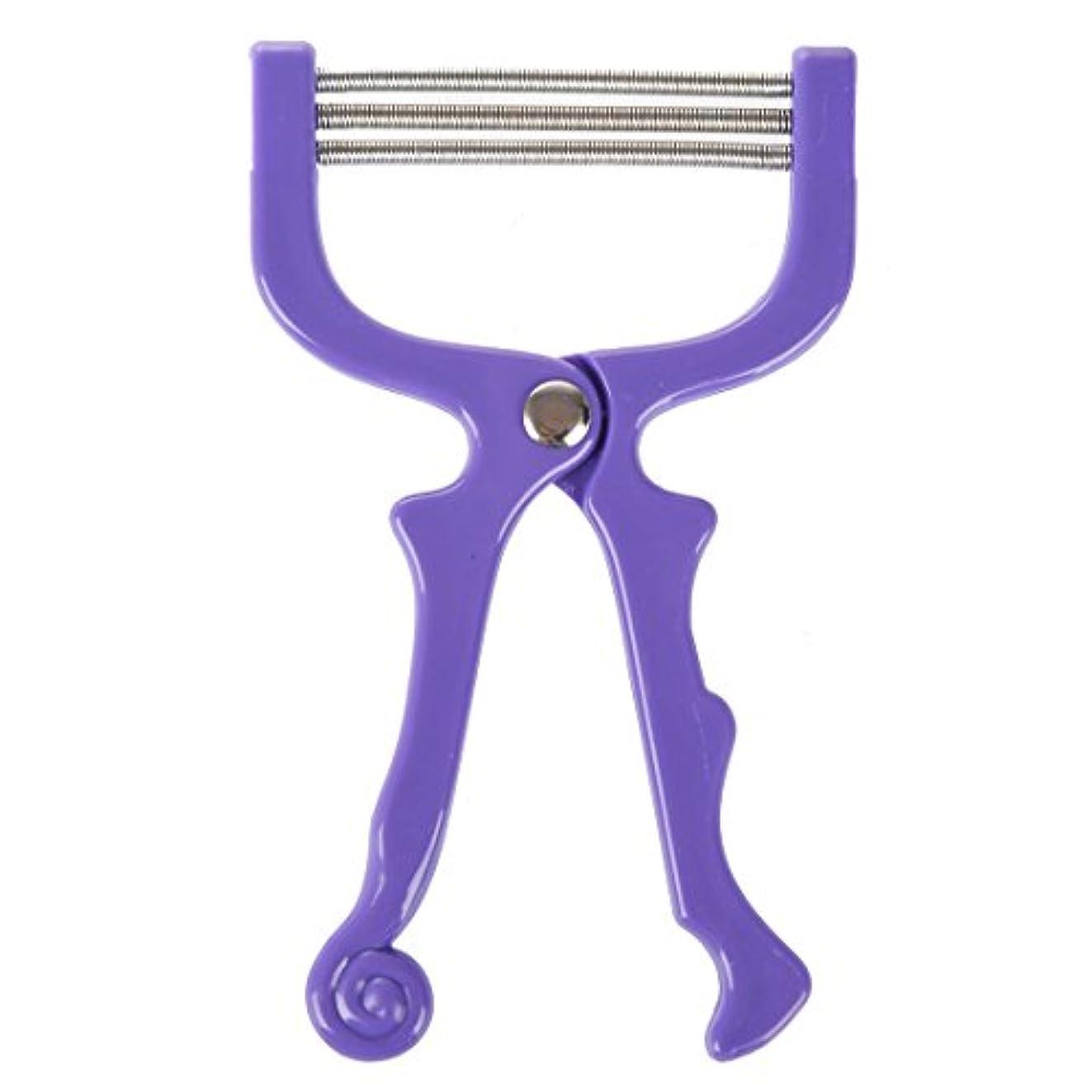 寛大な変えるいっぱいNaliovker ハンドヘルドひげ脱毛スレッディング美容脱毛器ツール