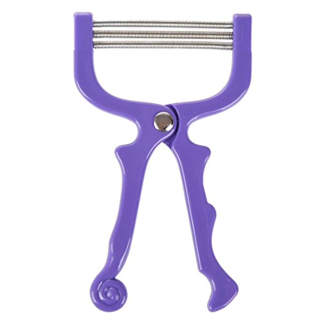 興奮する望む推論AFBEST ハンドヘルドひげ脱毛スレッディング美容脱毛器ツール