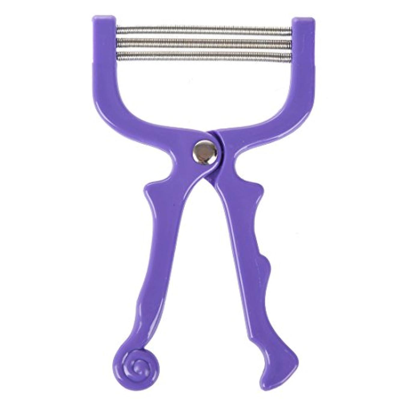 圧縮する誠意測るupperx ハンドヘルドひげ脱毛スレッディング美容脱毛器ツール