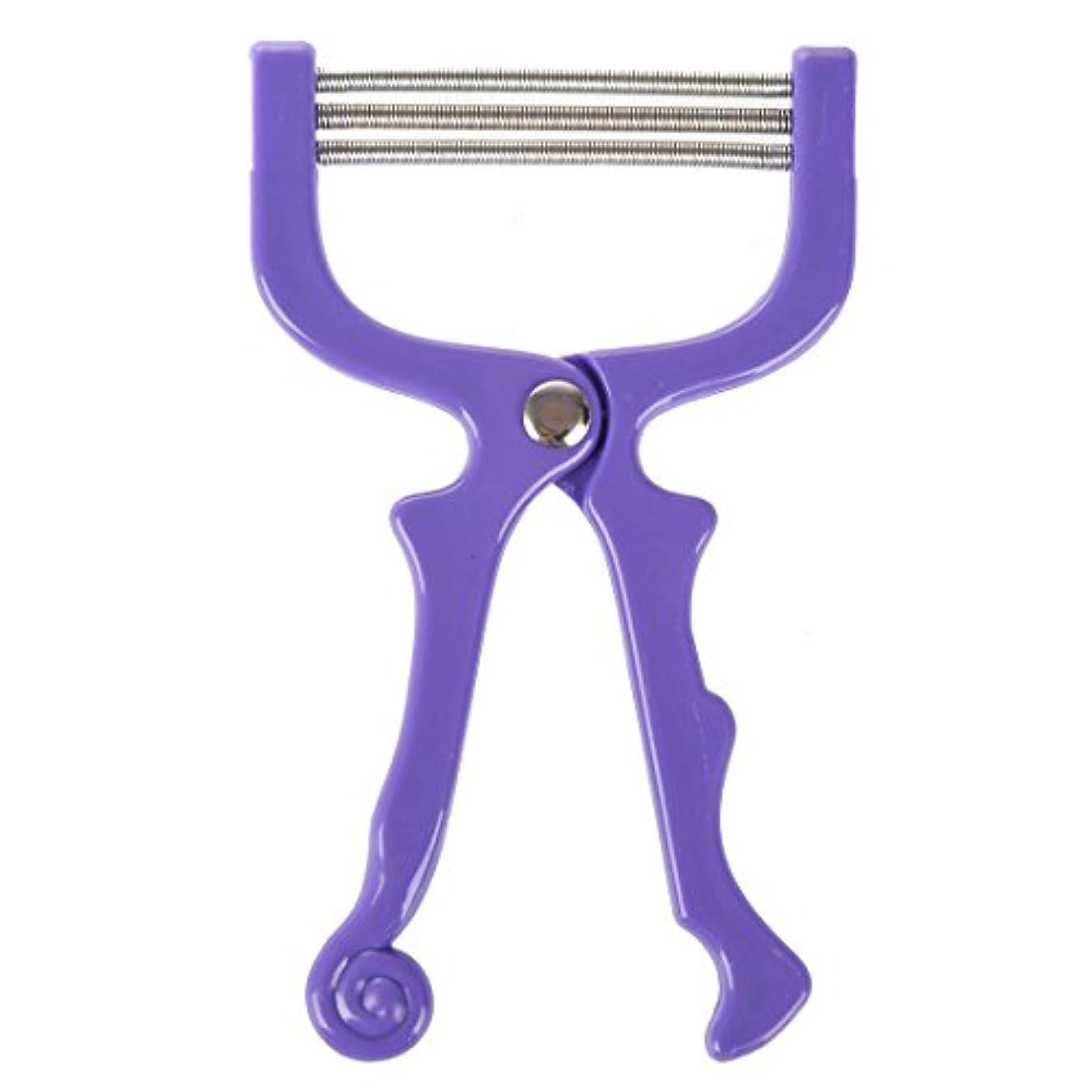 トランペットファイル格差upperx ハンドヘルドひげ脱毛スレッディング美容脱毛器ツール