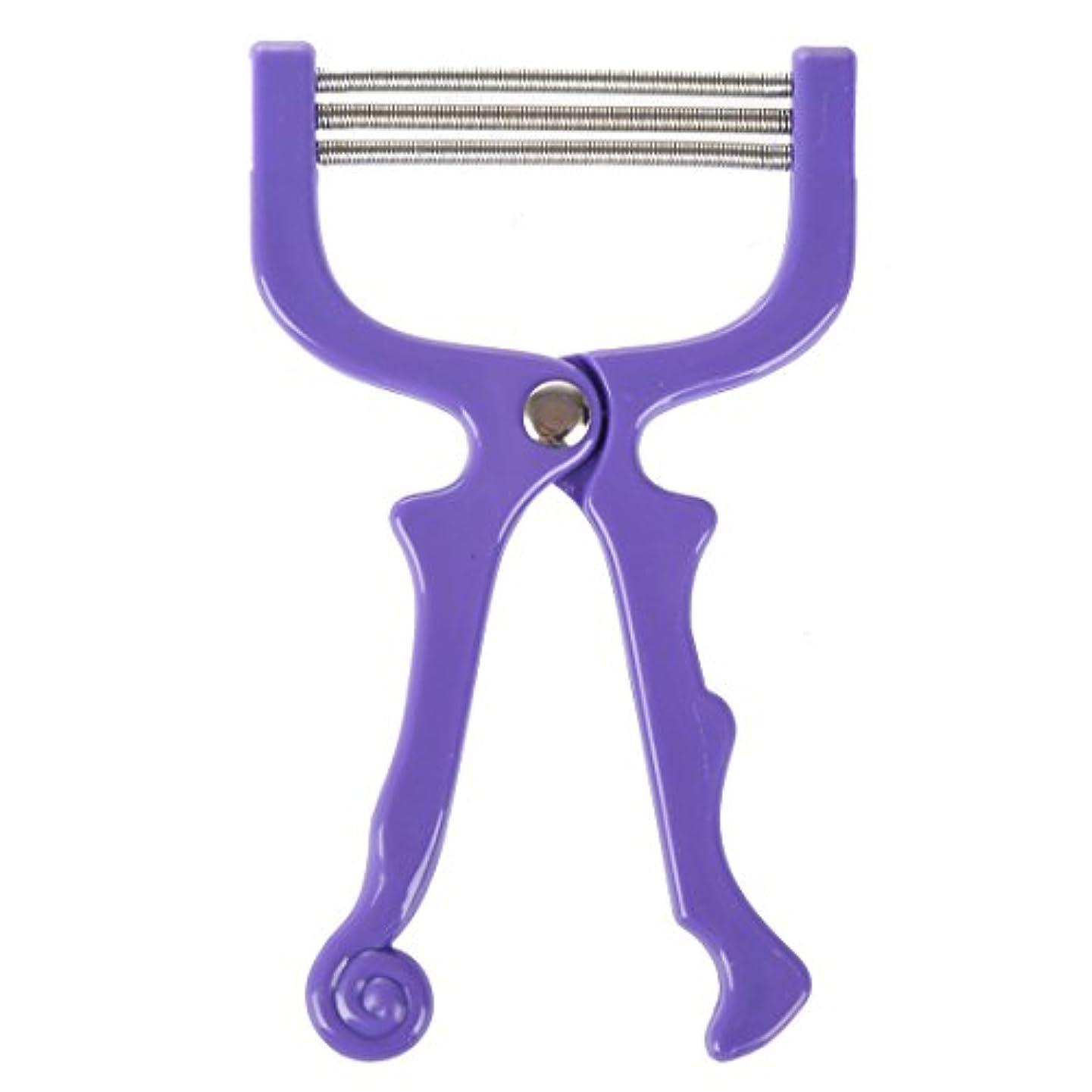 休日軽減する買収upperx ハンドヘルドひげ脱毛スレッディング美容脱毛器ツール