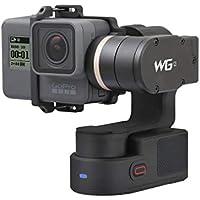 FeiyuTech WG2 GoPro HERO5 / 4/3 + / 3 / Xiaomi YI 4K AEEアクションスポーツカメラ用防水ウェアブル3軸ジンバルスタビライザー(カラー:ブラック)