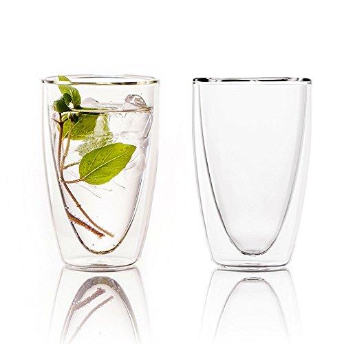 Ferranoダブルウォールグラス2個セット Vico(ヴィーコ)250ml