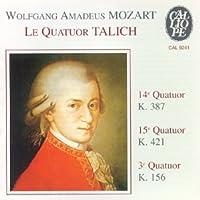 Mozart;Quartets 3,14 + 15