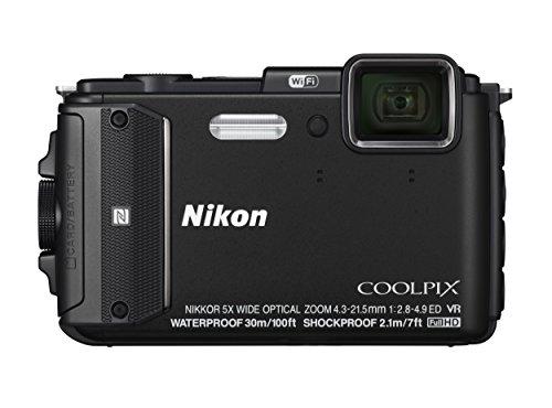 Nikon デジタルカメラ COOLPIX AW130 ブラ...