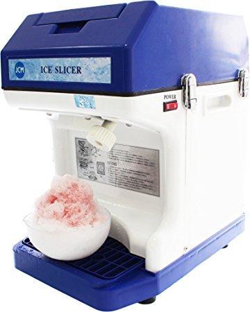 かき氷機 電動 キューブアイススライサー 業務用かき氷機 電動 メーカー1年保障付