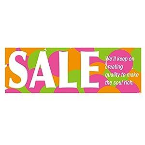 店舗装飾 カラフルポップ セール ポスター 横長-L (5枚) CPS-P1