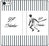 iPhone/Xperia/Galaxy/他機種選択可:手帳型/野球/グラフィティ手帳ケース(デザイン:ホーム/ニューヨーク/27番_01) 04 iPhone6Plus/6sPlus