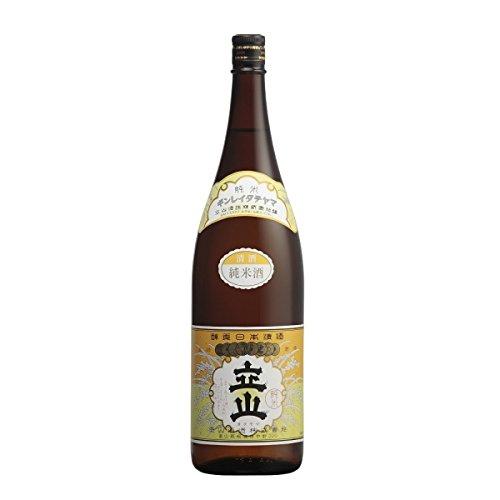 銀嶺立山純米酒 1800ml 立山酒造(富山)