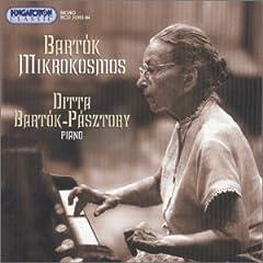 輸入盤 ディッタ・バルトーク演奏 バルトーク:ミクロコスモス全曲(Hungaroton CD2枚組)のAmazonの商品頁を開く