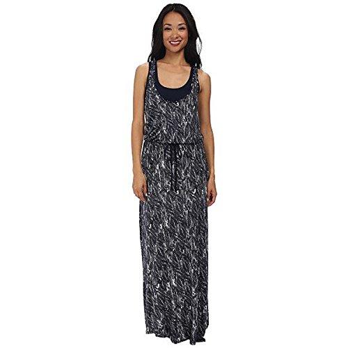 (スリードッツ) Three Dots レディース ドレス マキシドレス Drawstring Maxi Dress 並行輸入品