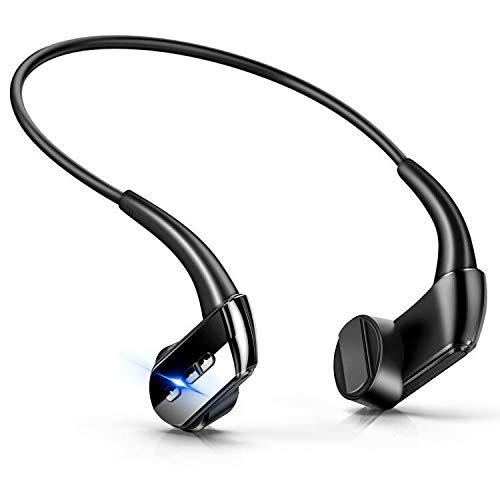 【最新版】 Bluetooth イヤホン 骨伝導 ヘッドホン スポーツ イヤホン 高音質 超軽量 ワイヤレス ヘッドセット ハンズフリー 8時間連続使用 防水防汗