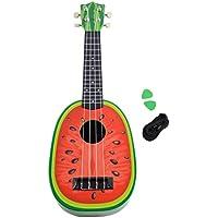 Lightahead ®スイカShaped Ukuleleギター23インチClassical Nylon String