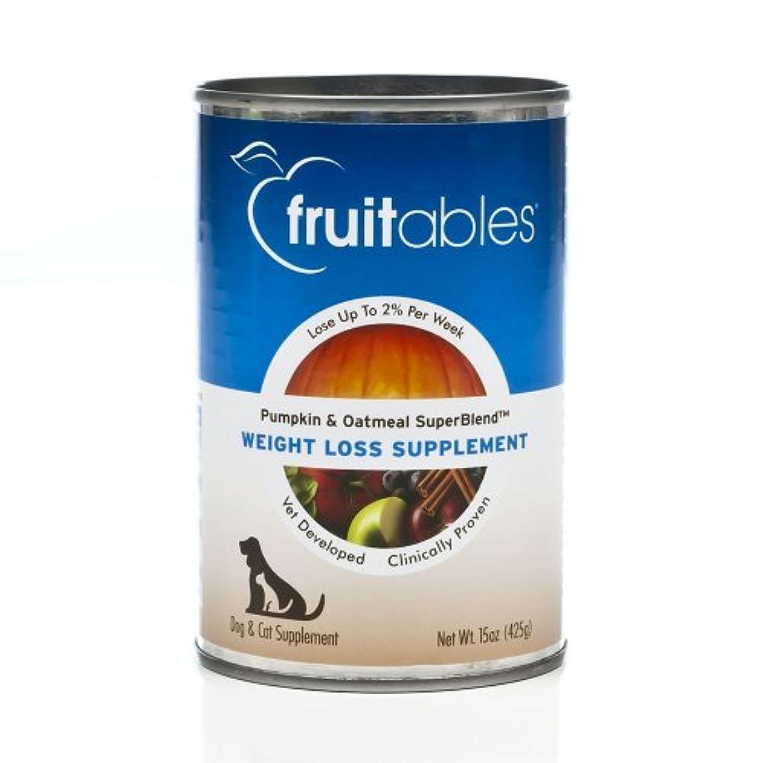 繰り返す団結する憲法Fruitable All Natural Weight Loss Pumpkin Oatmeal Dog Cat Canned Supplement 15z