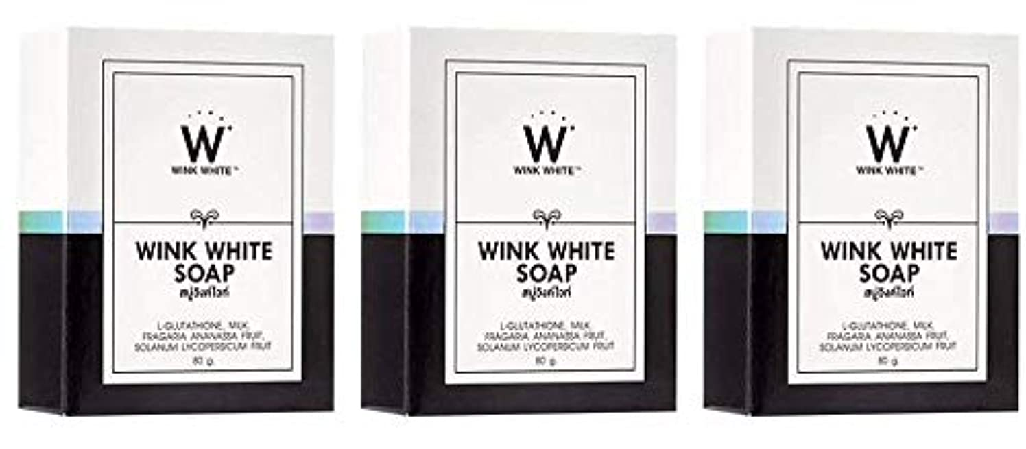 横トーク数学者Gluta Pure Soap Wink White Whitening Body 80 Grams by Wink White