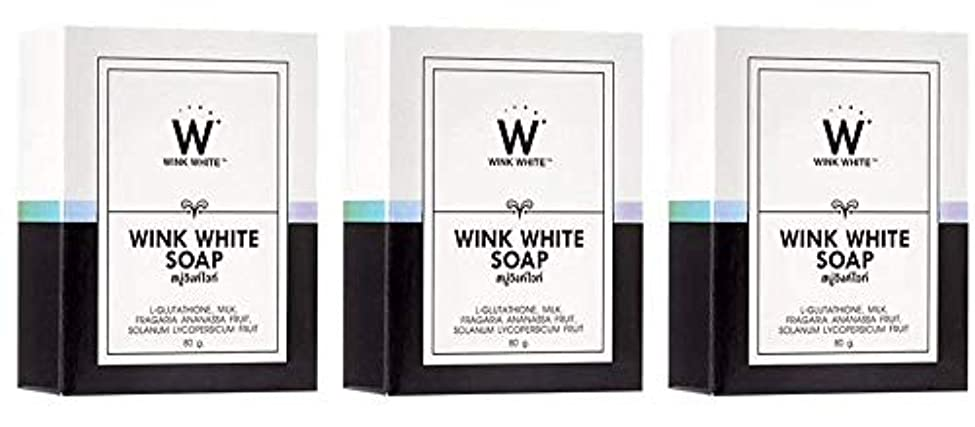休憩リファインレバーGluta Pure Soap Wink White Whitening Body 80 Grams by Wink White