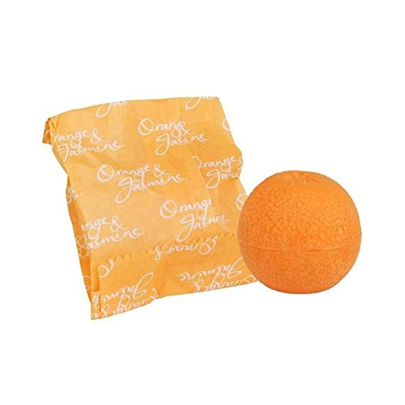 境界提供するエレメンタルオレンジ&ジャスミン石鹸100グラム x4 - Bronnley Orange & Jasmine Soap 100g (Pack of 4) [並行輸入品]