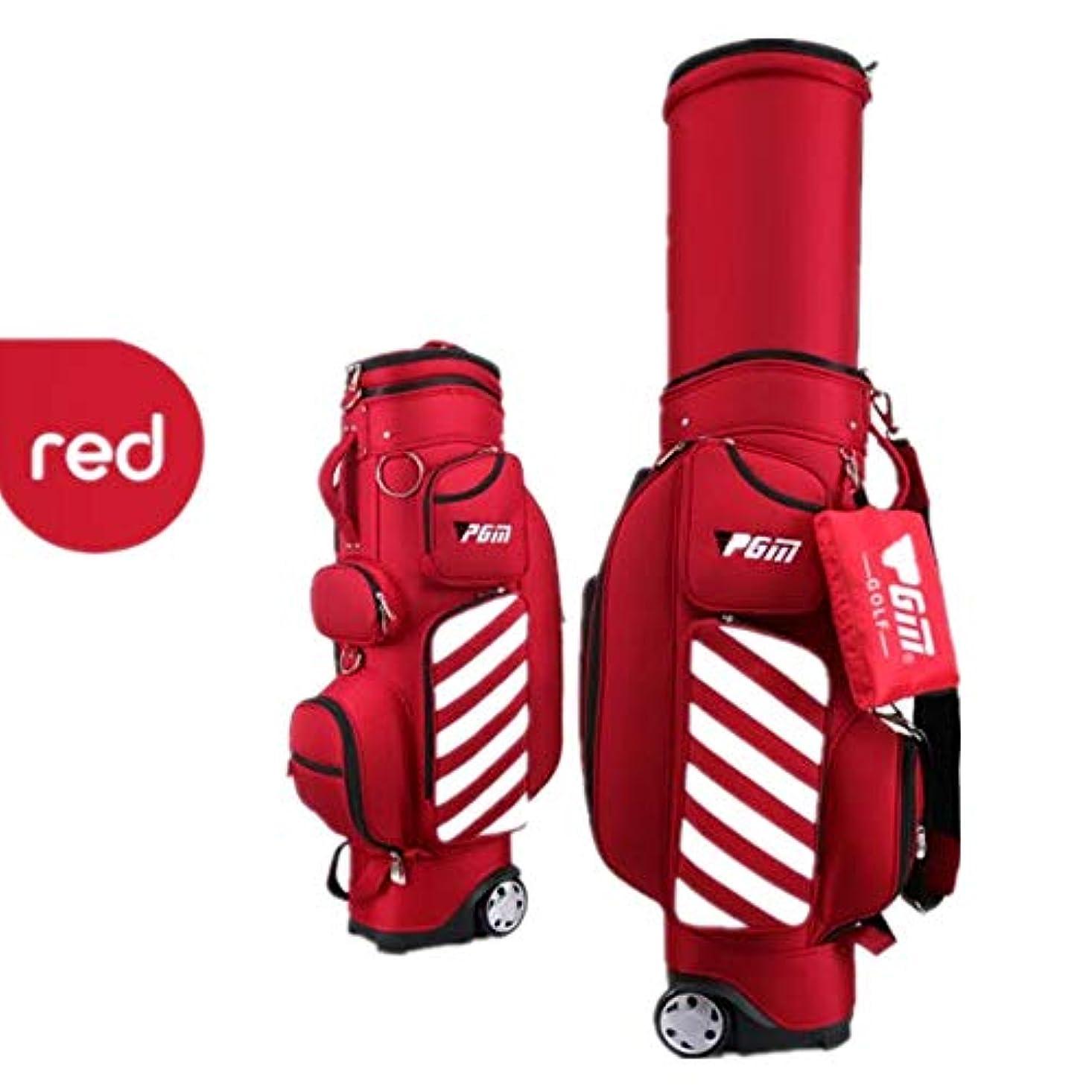 受付ハードリングミッションゴルフクラブトラベルバッグケース ゴルフ伸縮キューバッグゴルフバッグ男性と女性プーリーハードシェルボールキャップエアバッグと引き込み式 機器を保護する (色 : G, サイズ : Free Size)