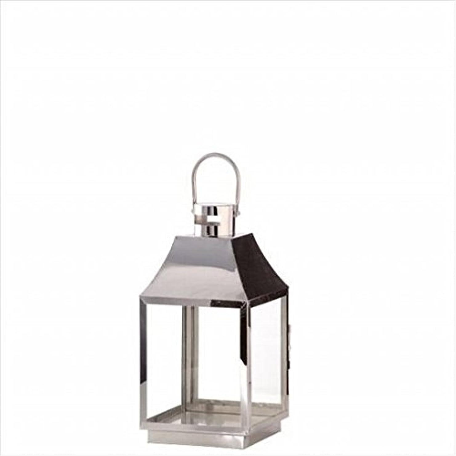 換気対称展示会kameyama candle(カメヤマキャンドル) ベーシックランタンM 「 シルバー 」(J2090010SI)