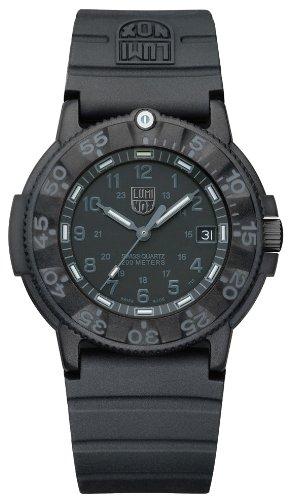 [ルミノックス]Luminox 腕時計 ネイビーシールズ ブラックアウト  3001BlackOut メンズ 【正規輸入品】
