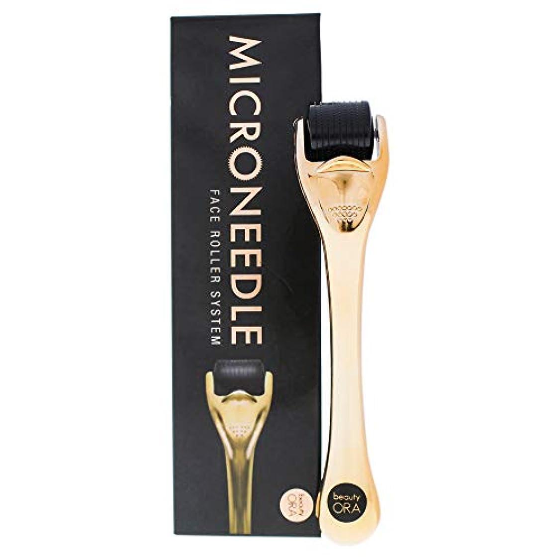 儀式勝つ佐賀Microneedle Face Roller System - Black-Bronze