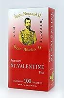 Black Pure Ceylon Tea Russian. Czar Nikolas II 100 pack by Russian Tea