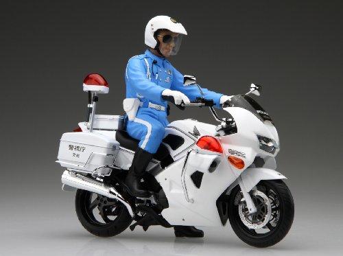 フジミ模型 1/12 バイクシリーズSPOT Honda VFR800P 白バイ 白バイ隊員 フィギュア付