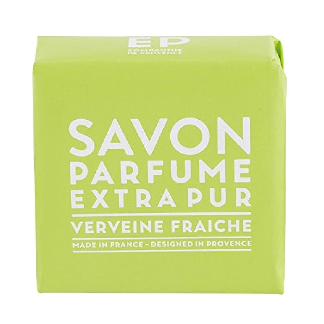 感嘆の前で強いますカンパニードプロバンス EXP  マルセイユソープ バーベナ 100g(全身用石けん?フランス製?フレッシュで爽快感のあるバーベナの香り)