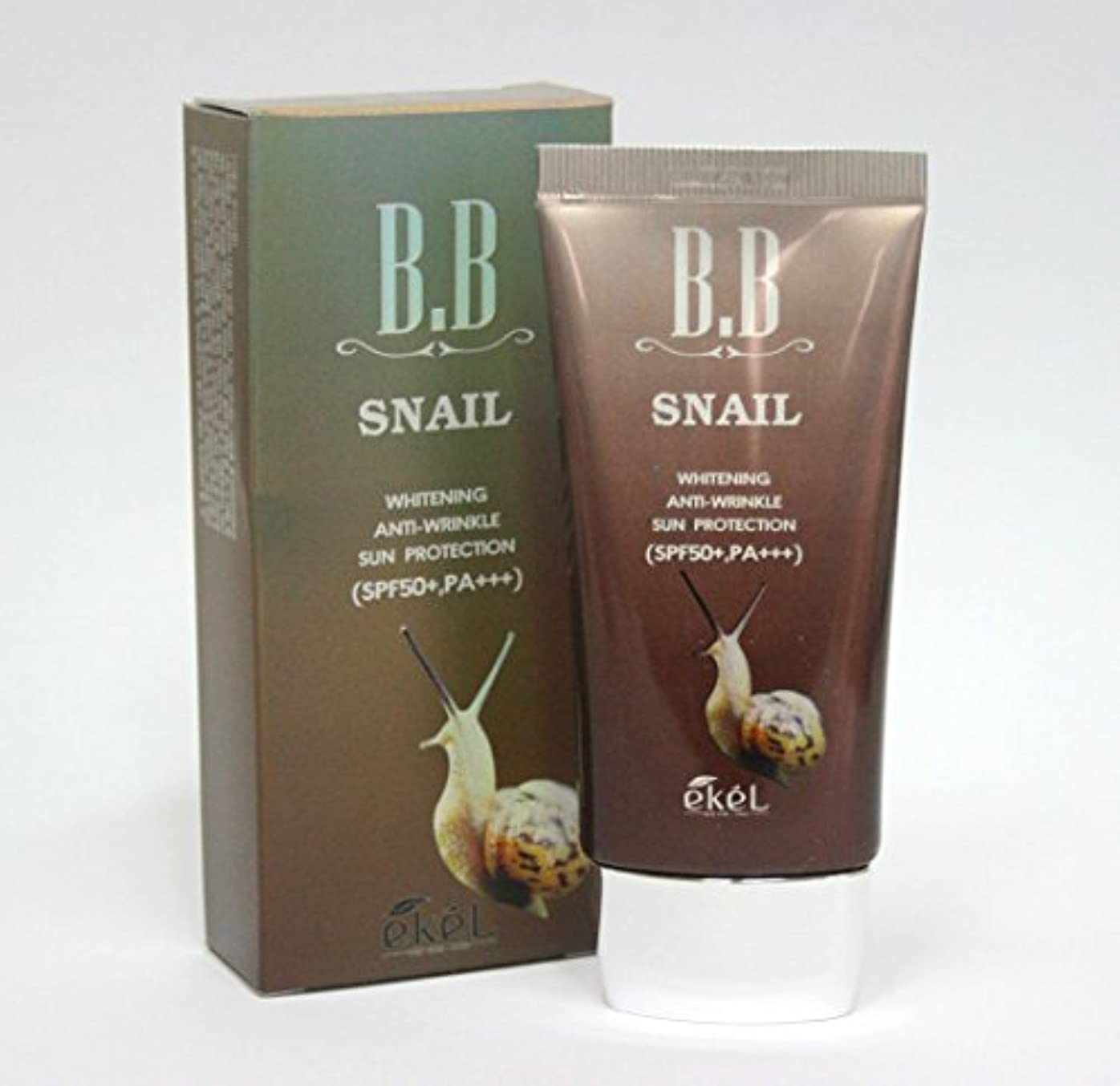 ほぼ艶啓発する[Ekel] カタツムリBBクリーム50ml / ホワイトニング , SPF50 + PA +++ / 韓国化粧品 / Snail BB Cream 50ml / Whitening, SPF50+ PA+++ / Korea...