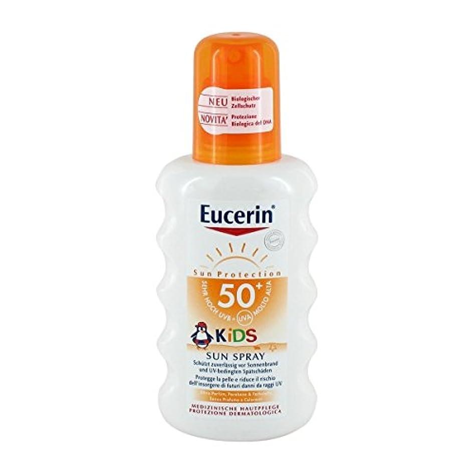 ゲーム士気乗算Eucerin Sun Kids Spray Spf50+ 200ml [並行輸入品]