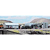 Walthers Cornerstone N Scale Building/Structure Kit Interstate Fuel & Oil by Walthers Cornerstone