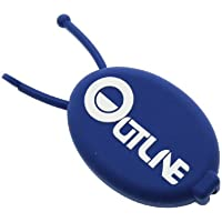 ダーツ小物ケース【アウトライン】楕円形マルチケース ブルー